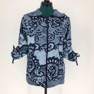 Papa Vancouver 3/4 Sleeve Sequinned Sweatshirt, L